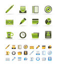 Office & Business Icons Royalty Free Stock Photo