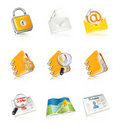 Office & Business icons Stock Image