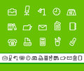 Office business icons vector illustration Royalty Free Stock Photo