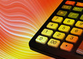 Office calculator Royalty Free Stock Photos