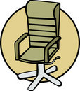Office chair vector illustration Royalty Free Stock Images