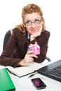 Office clerk-2 Royalty Free Stock Photo
