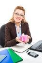 Office clerk-3 Royalty Free Stock Photo