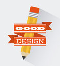 Office design over white background vector illustration Royalty Free Stock Photography