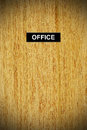 Office doors Stock Image