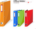 Office folders standard for papers Stock Photo