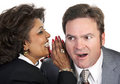 Office Gossip Stock Image