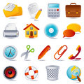 Office icon Royalty Free Stock Photo
