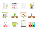 Office Icons Set 3 Royalty Free Stock Image