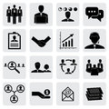 Office icons signs of people concepts for business graphic vector this illustration can also represent employees manager receiving Royalty Free Stock Images