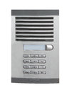 Office intercom isolated on a white background Royalty Free Stock Photo