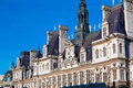 Office of Mayors - Hotel de Ville, Paris Royalty Free Stock Photo