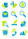 Office object icons Stock Photo