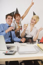 Office party Stock Photography