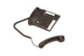 Office phone isolated Stock Images