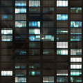 Office Skyscraper Windows Abstract Stock Photo