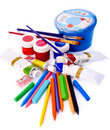 Office supplies. Royalty Free Stock Photo
