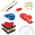 Office Supplies Stock Photography