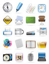 Office tools vector icon set 2 Royalty Free Stock Photography