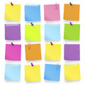Office Work Paper Notes Reminder Concept Royalty Free Stock Photo