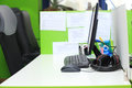 Office workplace close-up Royalty Free Stock Photo