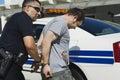 Officer Arresting Drug Dealer