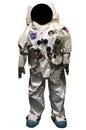 Official NASA astronaut Apollo 11 spacesuit Royalty Free Stock Photo