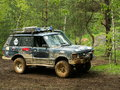 Offroad car after x challenge Stock Images