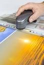 Offset print controll