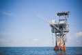 Offshore Drilling and Exploration Platform Royalty Free Stock Photo