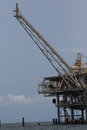 stock image of  Offshore oil and natural gas platform