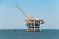 stock image of  Offshore oil rig