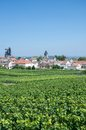 Oger champagne region france the famous wine village of in near epernay Royalty Free Stock Photo