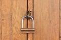 Oggetto di legno chiuso Fotografia Stock Libera da Diritti