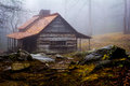 Ogle farmhouse in the great smoky mountain national park just outside gatlinburg tn Royalty Free Stock Photo