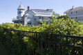 Ogunquit the beachmere inn is a beautiful hotel along the marginal way Royalty Free Stock Photo