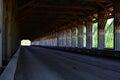 Covered bridge Royalty Free Stock Photo