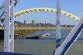 Ohio River Barge Royalty Free Stock Photo