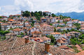 Ohrid town in Macedonia Royalty Free Stock Photo
