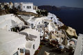 Oia a beautiful somewhere in Stock Photo