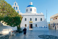 Oia. Church of Panagia. Royalty Free Stock Photo