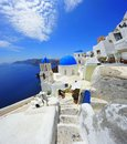 Oia Santorini (Thira) Greece - island white Stock Images