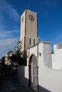 The Oia Town in santorini Royalty Free Stock Photo