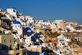 Oia village, Santorini, Greece Royalty Free Stock Photos