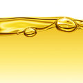 Oil background with air bubbles Royalty Free Stock Photography