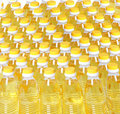 Oil bottle Royalty Free Stock Photography