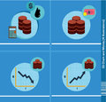 Oil Chart and Money