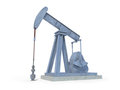 Oil derrick Royalty Free Stock Photo