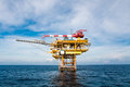 Oil and gas platform in the gulf or the sea, The world energy, O