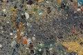 Oil paint splash on floor Royalty Free Stock Photo
